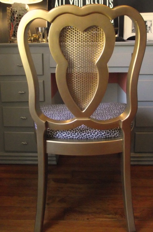 cropped chair