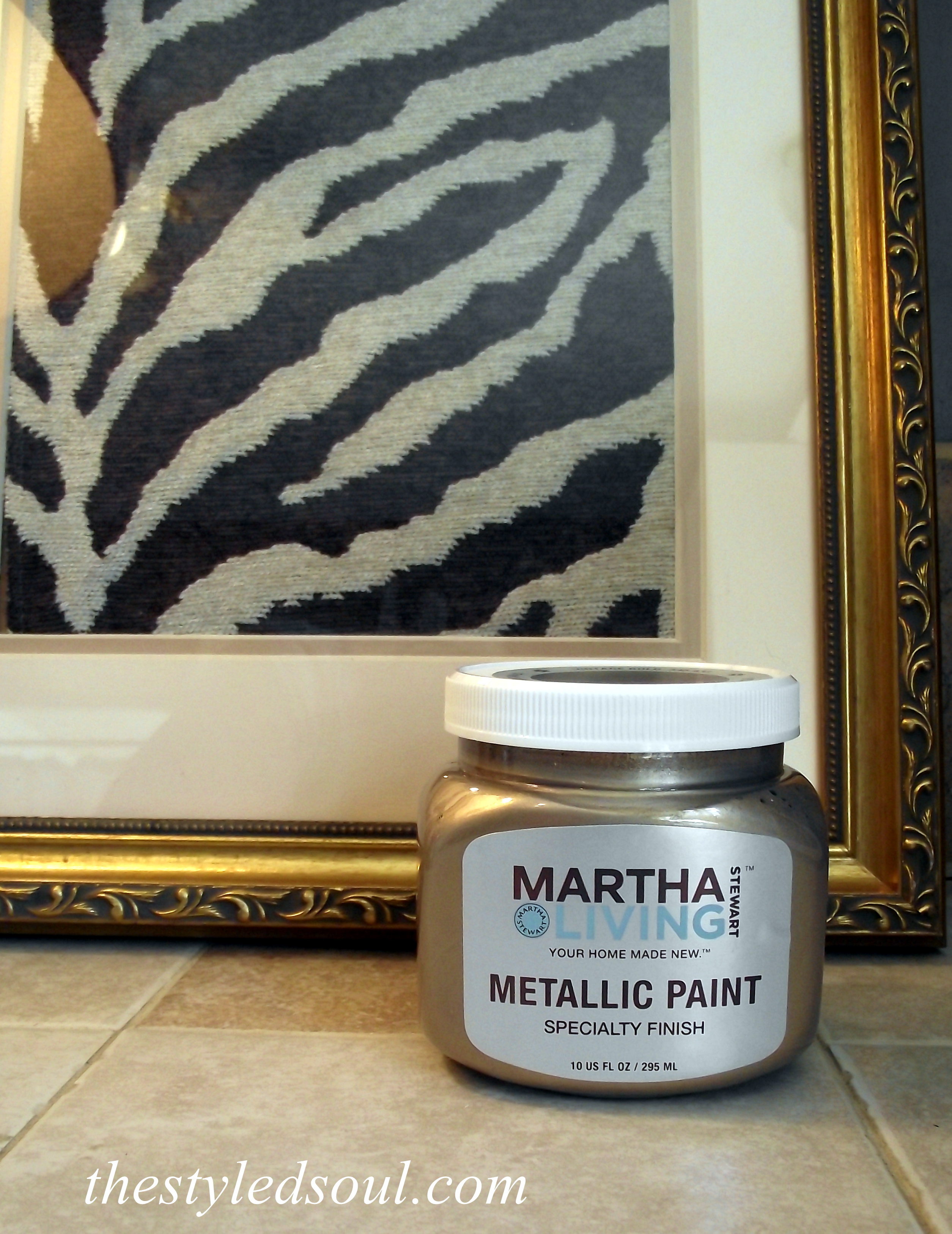 Martha Stewart Gold Paint